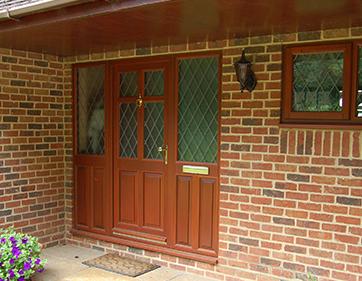Mahogany Timber door