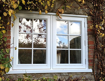 Flush timber window